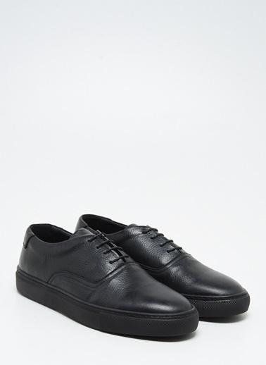 F By Fabrika Erkek Kahve Sneakers STEFAN Siyah